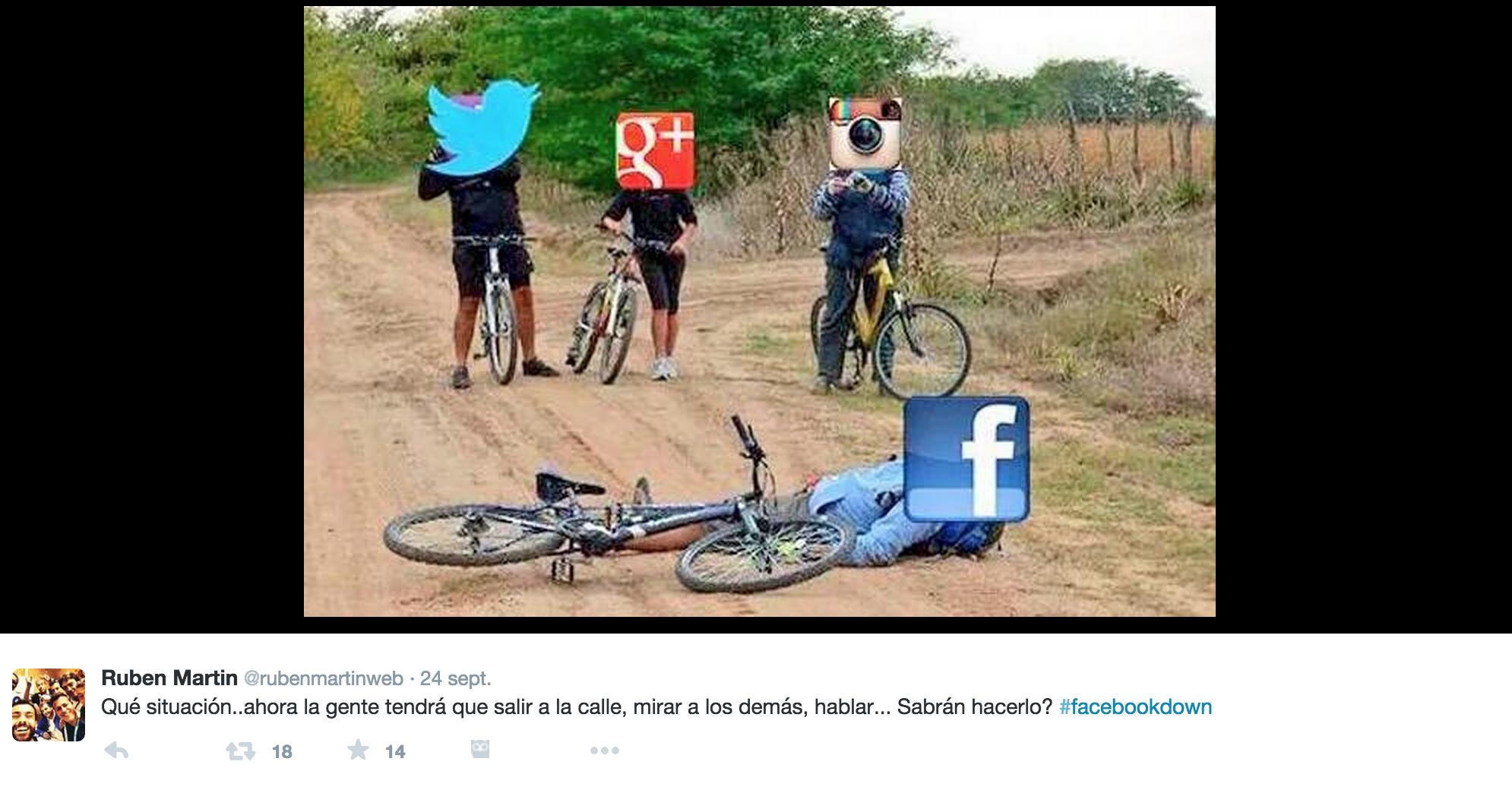 meme #facebookdown