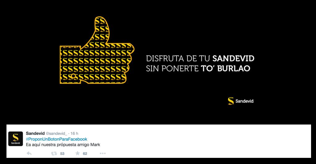 #proponunbotonparafacebook @sandevid_