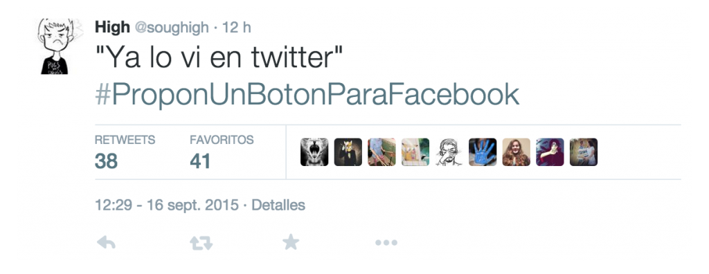 #proponunbotonparafacebook tweet @soughigh