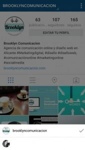 seleccion cuenta de instagram
